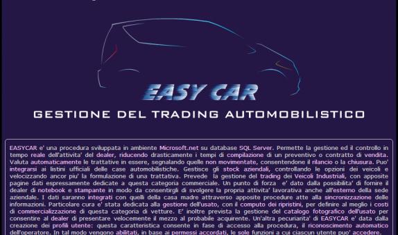 Gestione del Trading Automobilistico
